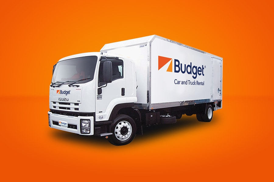 Moving Vans Budget Truck Rental
