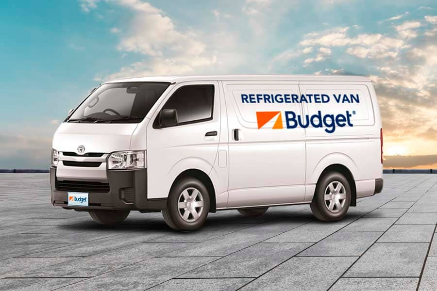 Refrigerated Vans Budget Trucks Australia