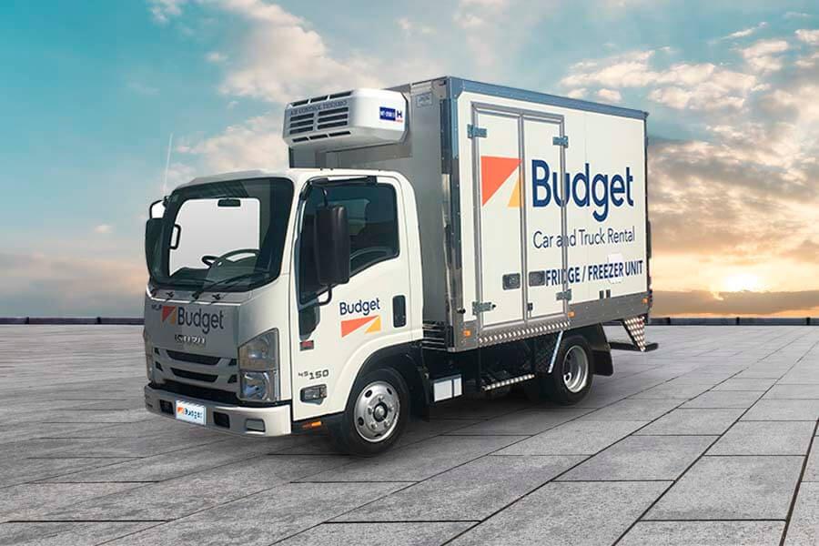 Refrigerated Vans Budget Trucks Australia